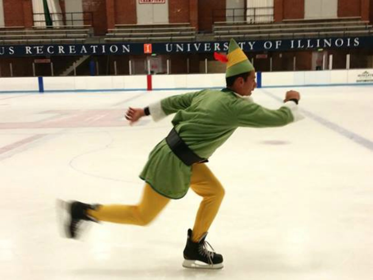 Ice Skating at the University of Illinois Ice Arena in Champaign-Urbana on Chambanamoms.com
