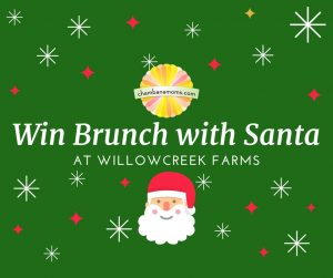 win brunch with santa at willow creek farm - Christmas At Willow Creek