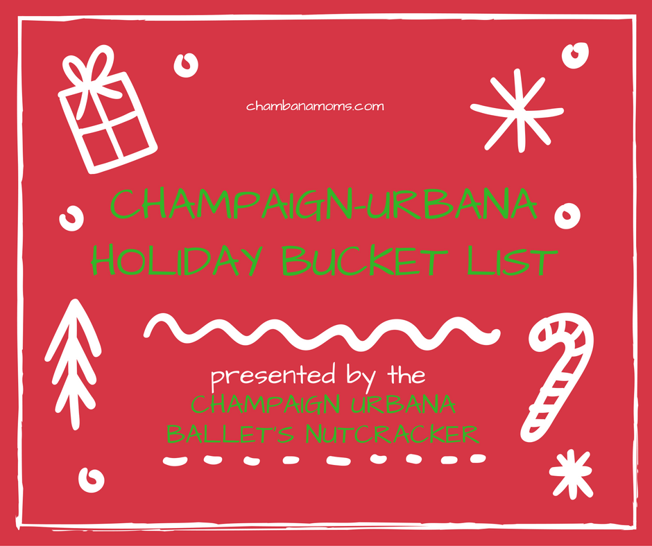 champaign urbana holiday bucket list
