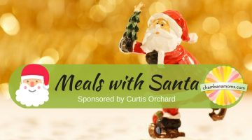 Meals with Santa Sponsored by Curtis Orchard