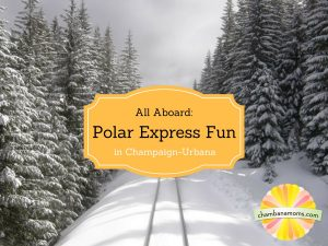 How to make your own Polar Express Holiday Fun in Champaign-Urbana on Chambanamoms.com