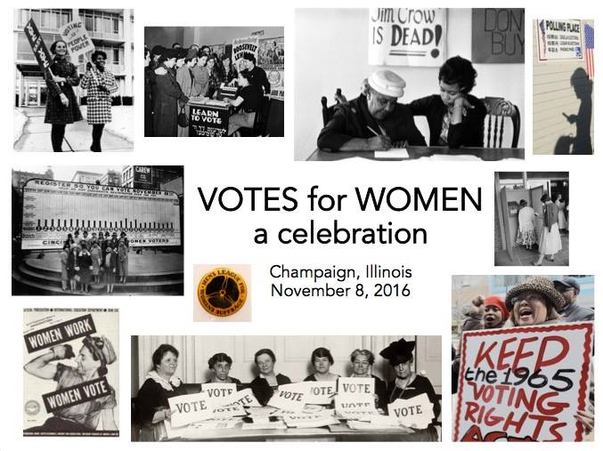 Votes for Women celebration Champaign