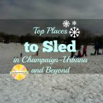 Where to go Sledding in Champaign-Urbana and Beyond on Chambanamoms.com