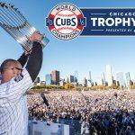 Champaign Cubs World Series Trophy Tour Stop Announced