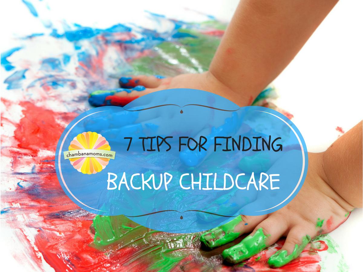 Where to find backup childcare in Champaign-Urbana