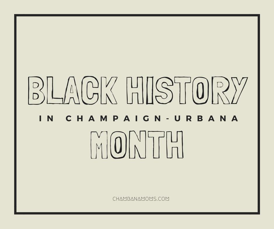 Black History Month Champaign Urbana