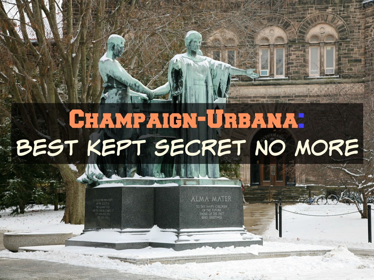 See why Champaign-Urbana has been named one of the best college towns in the country on Chambanamoms.com