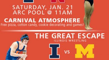 Champaign-Urbana Weekend Planner January 20-22 Sponsored by University of Illinois Athletics