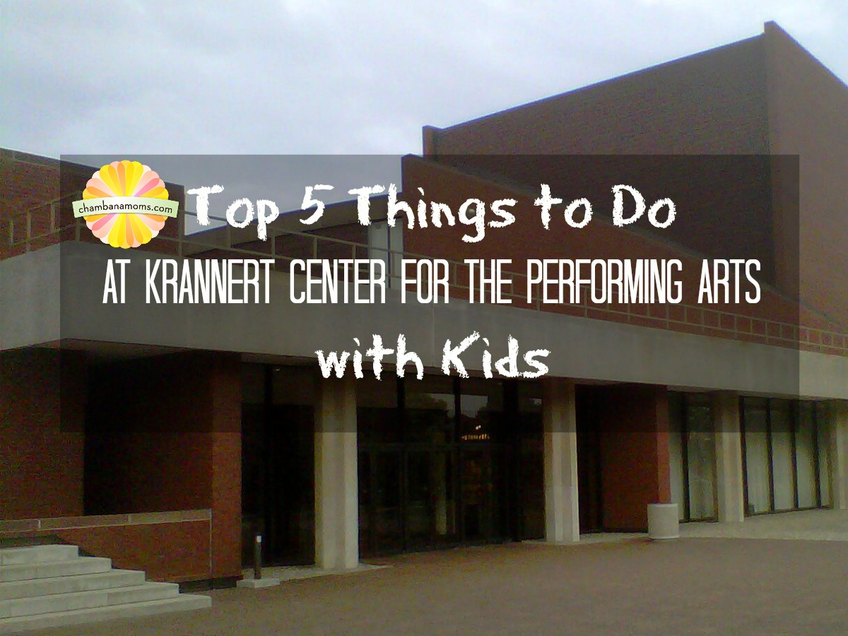Kids at Krannert at University of Illinois Champaign-Urbana on Chambanamoms.com