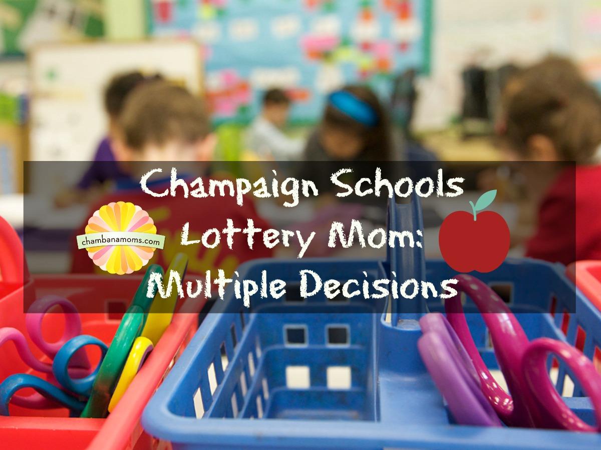 Champaign Unit 4 Kindergarten Lottery Registration on Chambanamoms.com