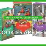 Girl Scout Cookies Arrive In Champaign-Urbana