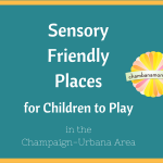 Sensory Friendly Places for Children to Play in the Champaign-Urbana Area