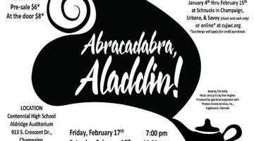 Champaign-Urbana Weekend Planner February 17-19 Sponsored by Junior Women's Club Tom Thumb Theatre