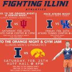 Champaign-Urbana Weekend Planner February 24-26 Sponsored by University of Illinois Athletics