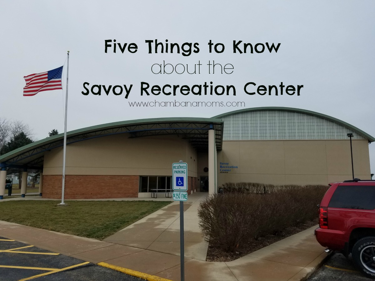 Savoy Recreation Center on Chambanamoms.com