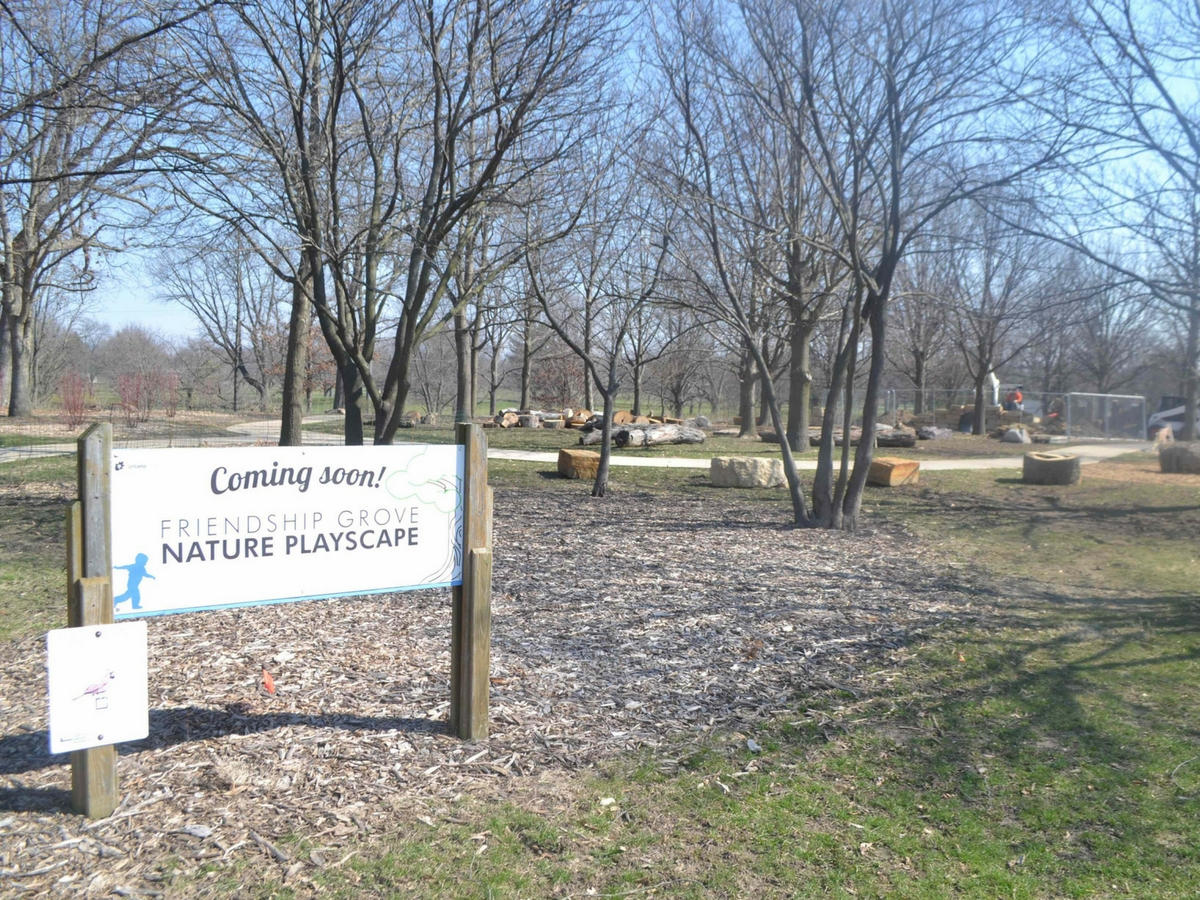 Grand Opening of the new Friendship Grove Natural Playscape in Urbana