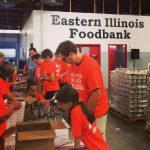 Champaign-Urbana Family Volunteering: Food Sorting at Eastern Illinois Foodbank