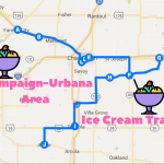 Champaign-Urbana Area Ice Cream Trail