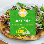 June Top 10 Picks Sponsored by Azzip Pizza