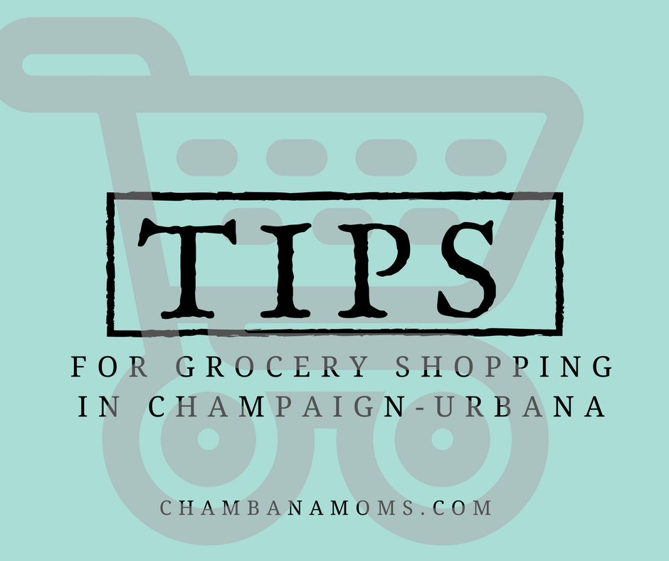 Grocery Shopping Tips Champaign-Urbana