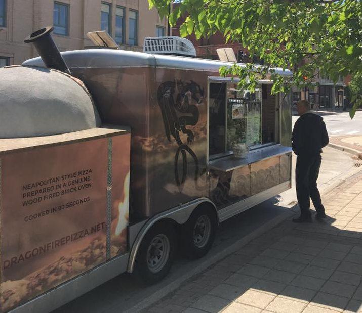 dragon fire pizza downtown champaign