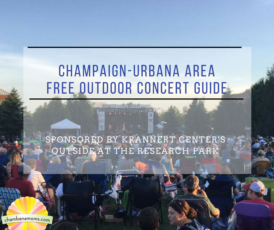 Champaign-Urbana Free Outdoor Concert Guide Sponsored by Krannert Center's outside at the research park