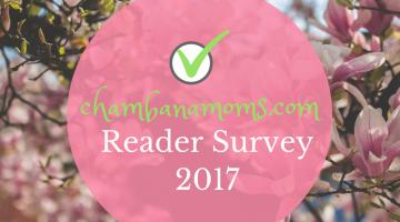 We Want Your Feedback! Take the Chambanamoms Reader Survey