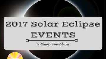 Solar Eclipse Events in the Champaign-Urbana Area