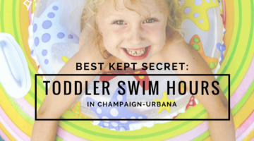Best Kept Secret: Toddler/Baby Swim Times in Champaign Urbana