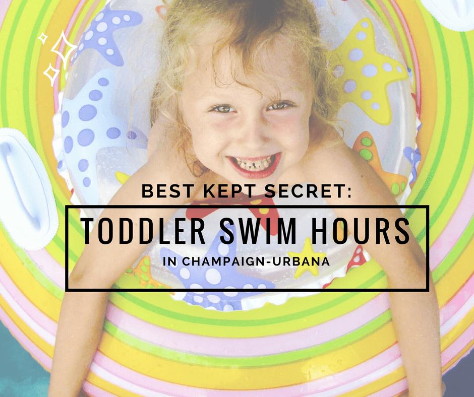 Baby, Toddler, Preschooler Swim Hours champaign urbana