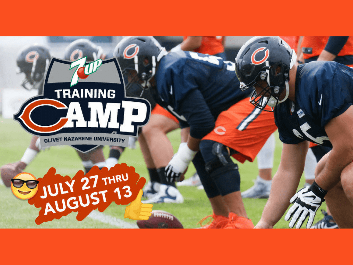 chicago Bears training camp bourbonnais