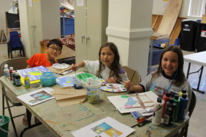 new programs at champaign park district include drawing painting program the themes of fall and the douglass lions spirit team