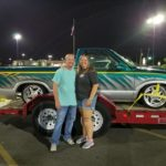 Stephanie and Kevin Baker With Truck