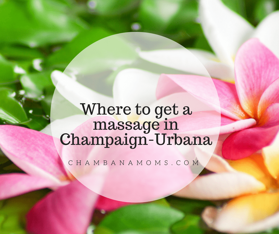 Where to get a massage in Champaign-Urbana
