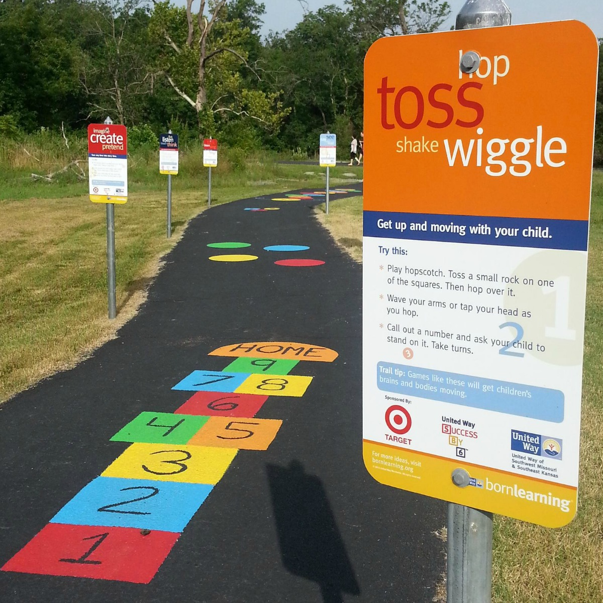 Born Learning Trail in Colbert Park
