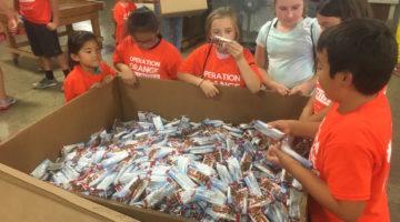 Family Volunteering: Operation Orange at Eastern Illinois Foodbank