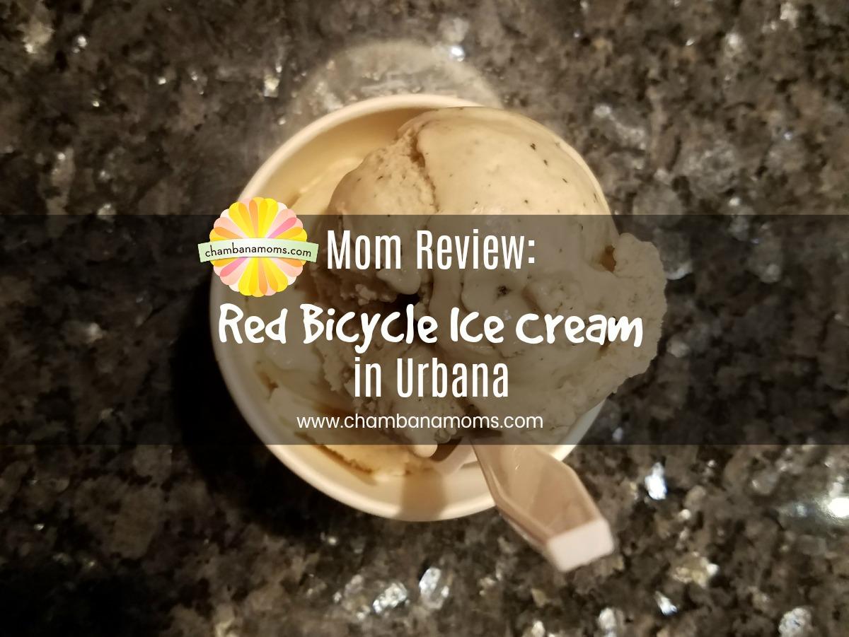 Chambanamom Emily reviews Red Bicycle Ice Cream on Chambanamoms.com