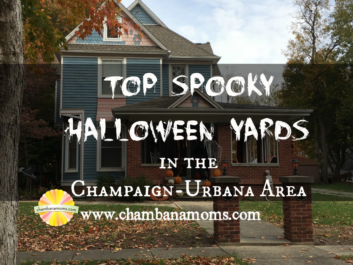 Halloween Yard.Top Spooky Halloween Yards In The Champaign Urbana Area