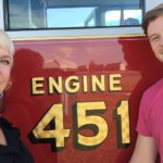 Savoy Fire Department Assists in Gender Reveal for Champaign Couple
