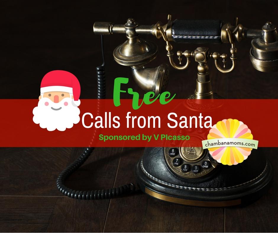 Champaign-Urbana kids can get phone calls from Santa on Chambanamoms.com