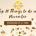 November Top 10 Picks For Family Fun Sponsored by El Toro