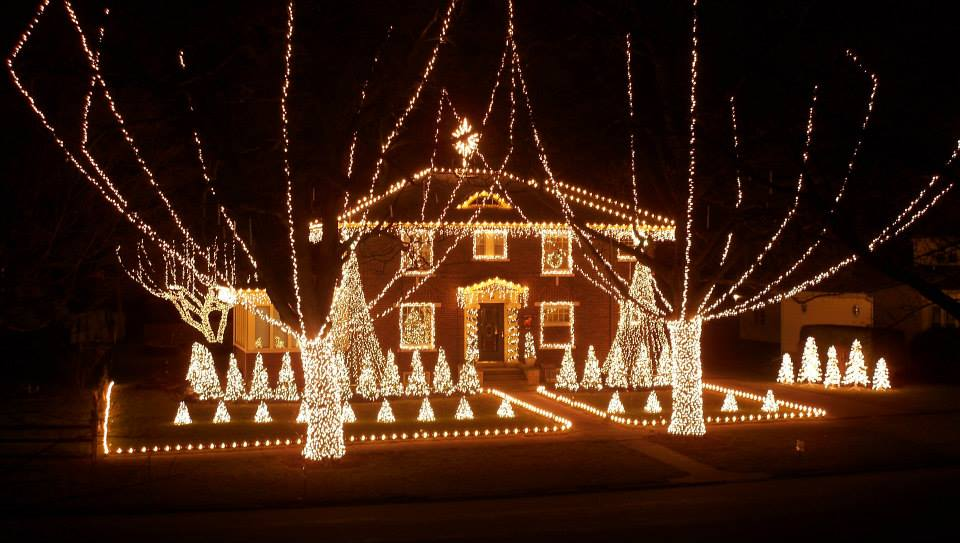 Amazing Christmas lights in Champaign-Urbana and Beyond.