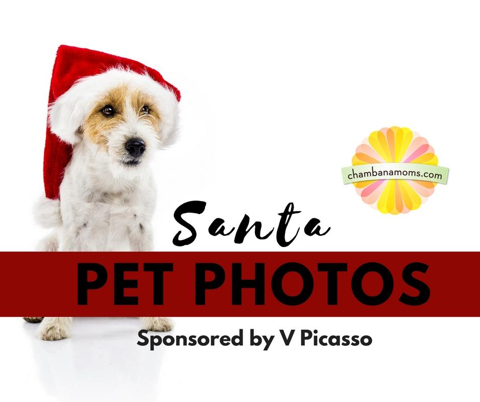 Santa Pet Photos in Champaign Urbana