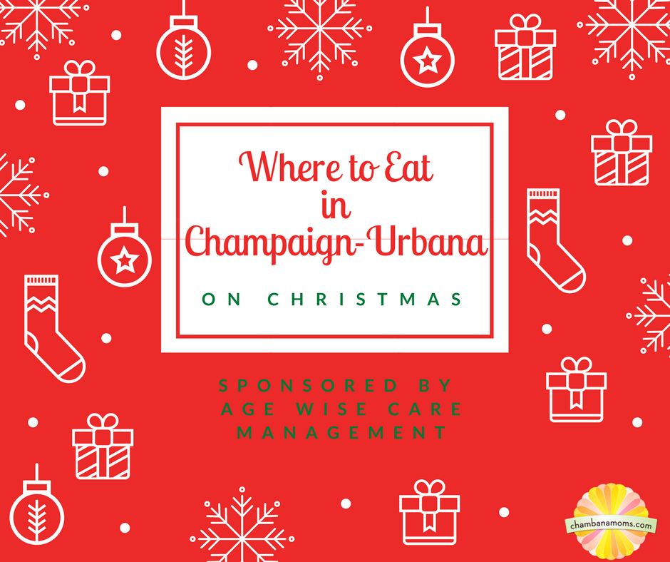 Where to Eat on Christmas Eve and Christmas Day in Champaign-Urbana