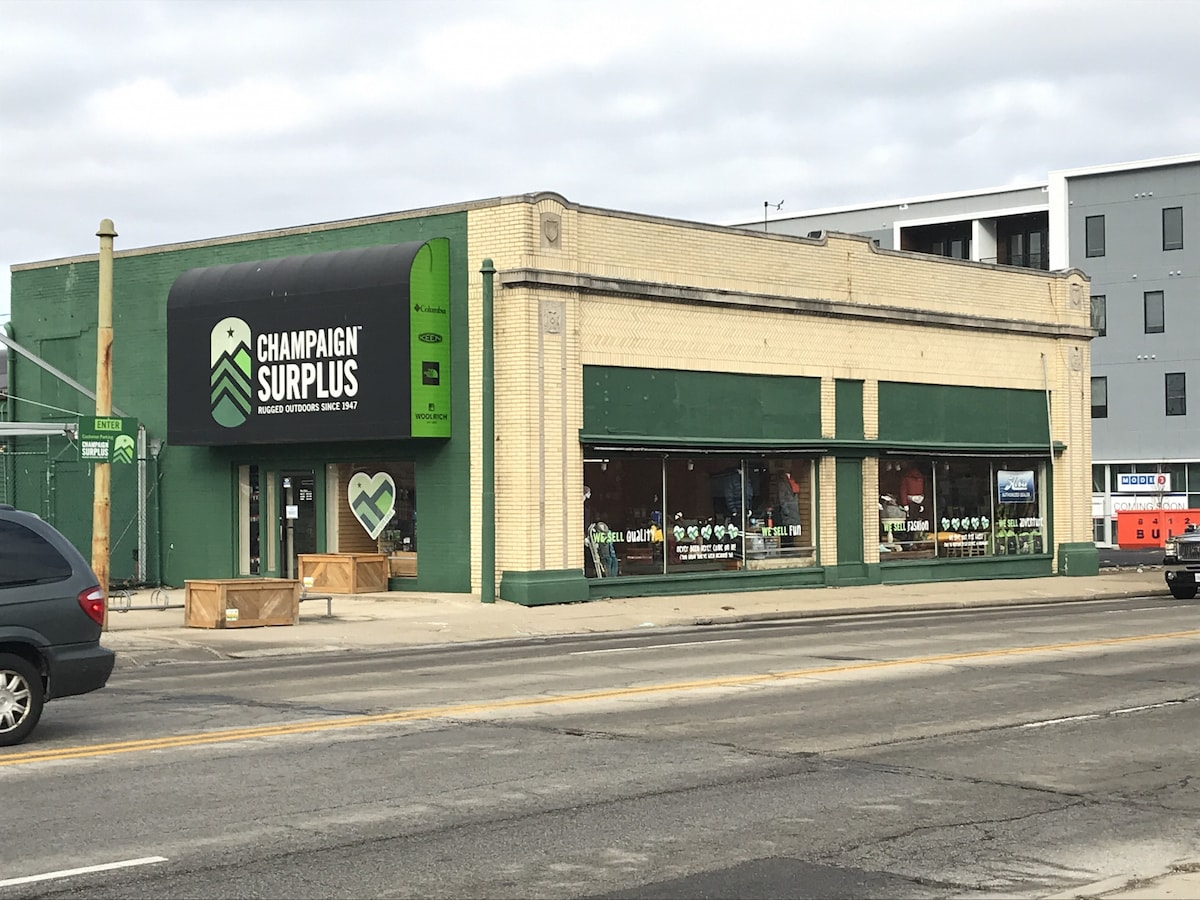 Champaign Surplus announces it will close, with a liquidation sale starting on Feb. 1. Chambanamoms.com photo