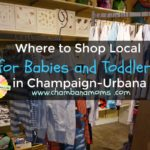 Where to Shop Local for Babies and Toddlers in Champaign-Urbana