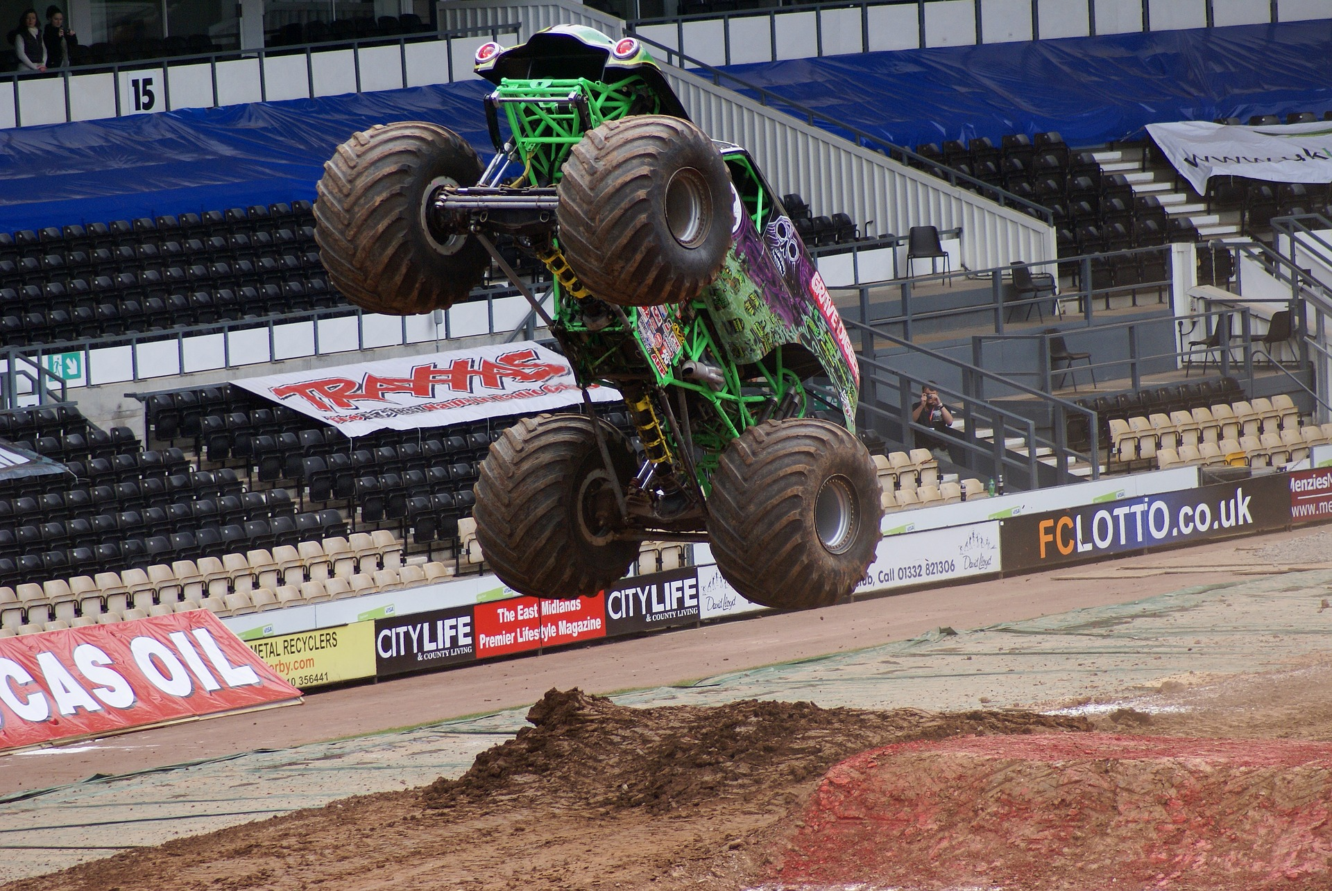 The Traxxas Monster Truck Tour is ing to the State Farm Center in April giving Champaign Urbana residents an up close look at the popular 10 000
