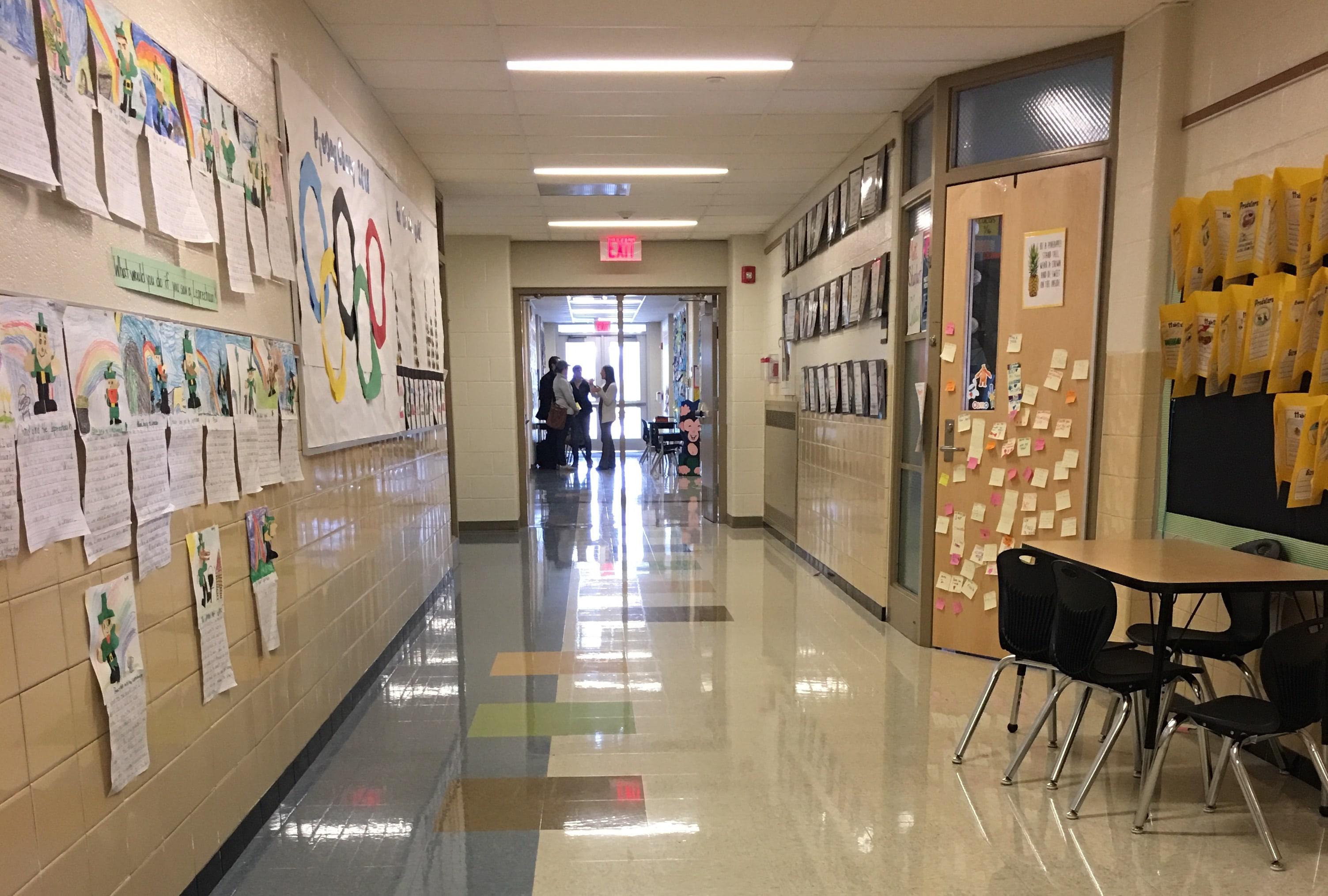 Bottenfield hallway