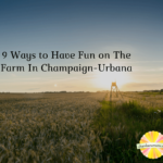 Fun on the farm near Champaign-Urbana