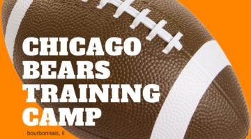 Chicago Bears Training Camp Returns to Bourbonnais
